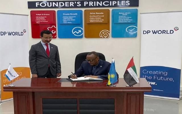موانئ دبي تفتتح منصة كيغالي اللوجستية في رواندا بـ35مليون دولار