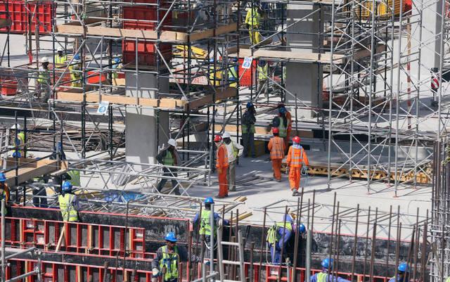 أحد مشروعات البناء بإمارة دبي
