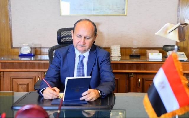 وزير الصناعة المصري عمرو نصار