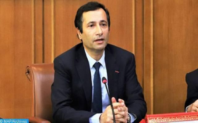 وزير الاقتصاد والمالية وإصلاح الإدارة - محمد بنشعبون