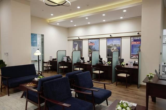 المركز الجديد في أبوظبي