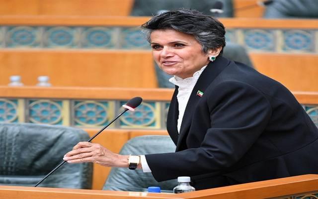 صفاء الهاشم رئيسة اللجنة المالية والاقتصادية بمجلس الأمة الكويتي