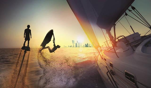 """يتوقع أن يستقطب """"معرض أبوظبي الدولي للقوارب 2018"""" الذي يحظى بدعم من دائرة الثقافة والسياحة وموانئ أبوظبي أكثر من 20 ألف زائر"""