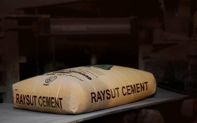 خط إنتاج في ريسوت للأسمنت