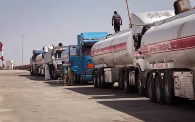 شاحنات نقل الخام العراقي