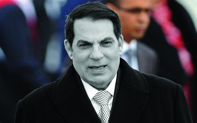 زين العابدين بن علي الرئيس التونسي السابق