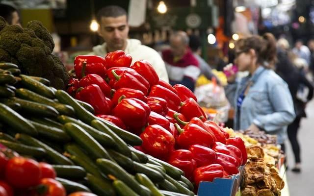 سوق للخضروات بأحد المدن العربية - أرشيفي