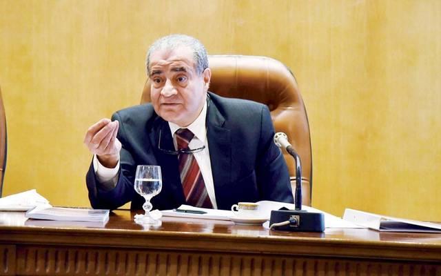 وزير التموين والتجارة الداخلية المصري علي المصيلحي