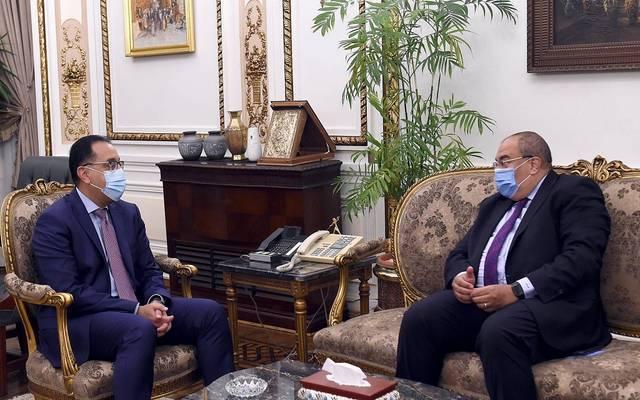 خلال لقاء رئيس الوزراء مع المدير التنفيذي بصندوق النقد الدولي