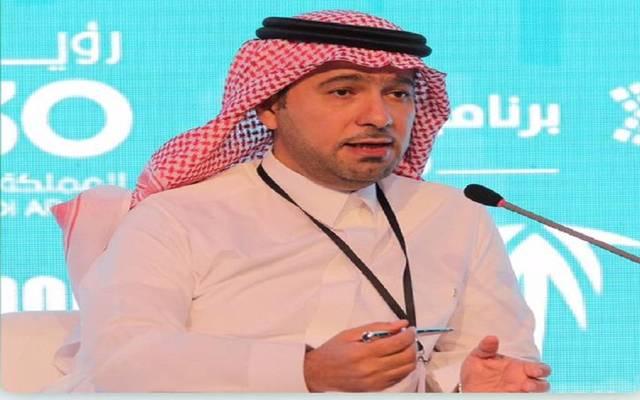 وزير الإسكان السعودية ماجد الحقيل خلال المؤتمر
