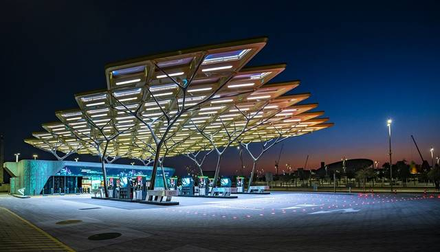 ENOC opens world's first platinum certified service station at Expo 2020