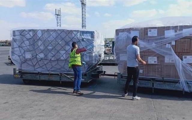 هيئة الشراء الموحد المصرية تتسلم 37 طناً من المستلزمات الطبية لمكافحة كورونا