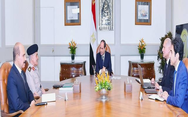 خلال اجتماع الرئيس السيسي مع رئيس صندوق شهداء ومفقودي ومصابي العمليات الإرهابية