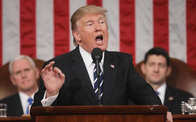 أبرز 6 قضايا تضمنها خطاب ترامب عن حالة الاتحاد
