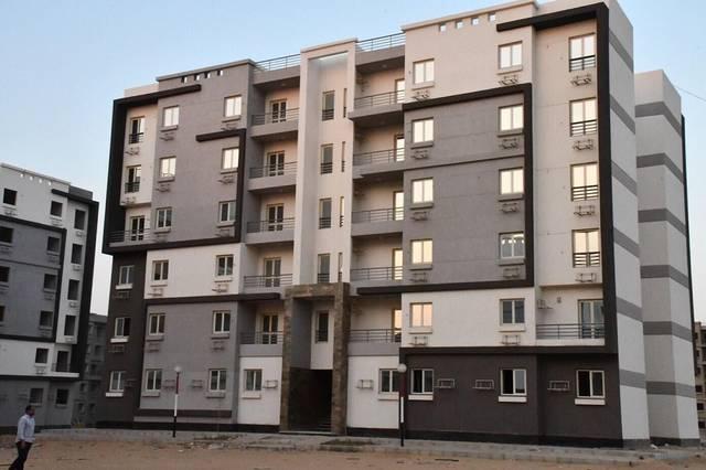 وحدات سكنية بمدينة المنصورة الجديدة