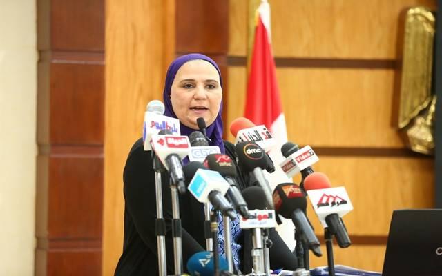 نيفين جامع وزيرة التضامن الاجتماعي