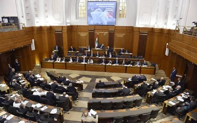 جلسة التصويت بمجلس النواب على الثقة في الحكومة اللبنانية الجديدة برئاسة حسان دياب