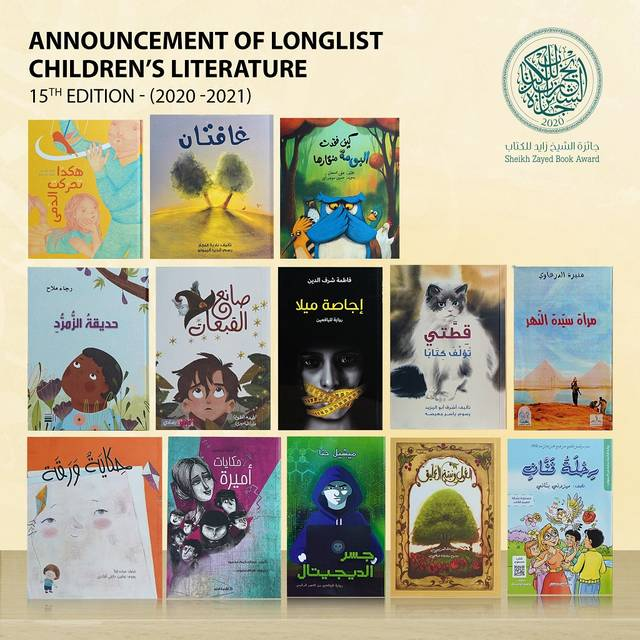 'Young Author' category has received 646 submissions