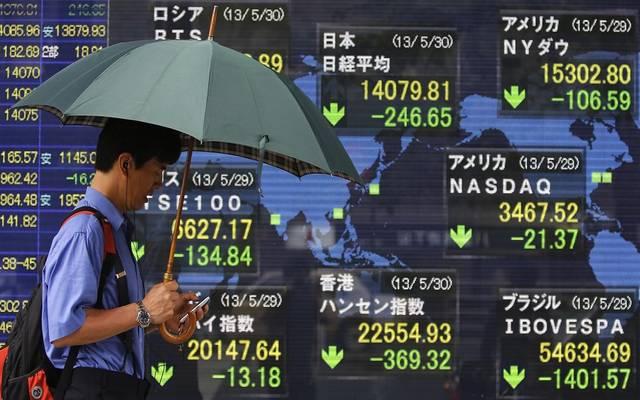 الأسهم اليابانية تتراجع بالختام وسط تصاعد حالات الإصابة بالفيروس