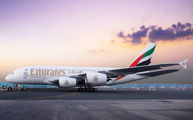 """رحلة """"طيران الإمارات"""" """"إي كيه 957"""" ستنطلق من مطار دبي الدولي الساعة 7:25 صباحاً"""