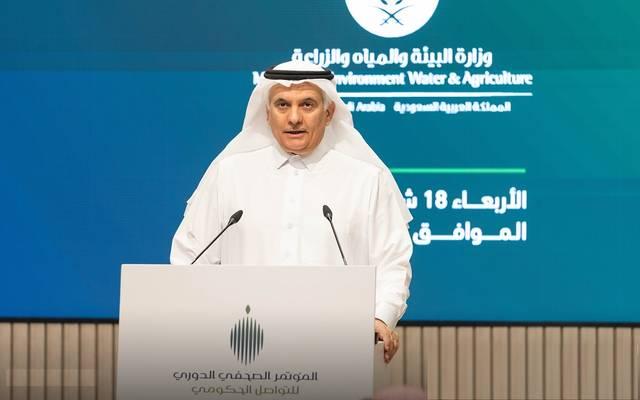 وزير البيئة والمياه والزراعة السعودي، عبدالرحمن الفضلي- أرشيفية