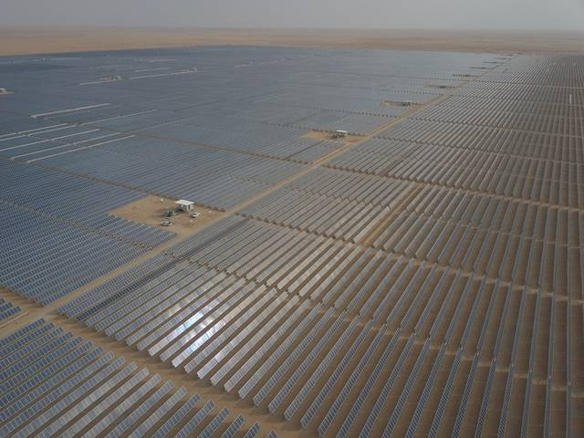 The solar complex was completed with 100% Saudisation rate in first year