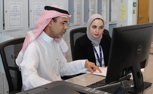 داخل مقر مجلس المناقصات والمزايدات البحريني
