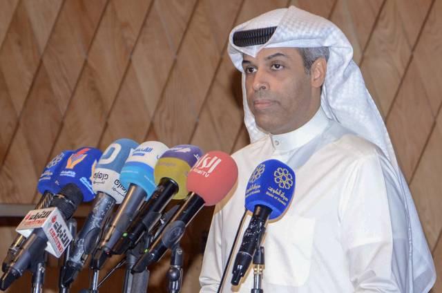 وزير النفط والكهرباء والمياه بدولة الكويت خالد الفاضل - أرشيفية