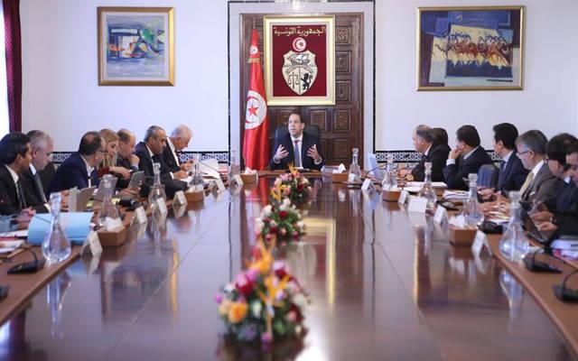 اجتماع الحكومة التونسية برئاسة يوسف الشاهد
