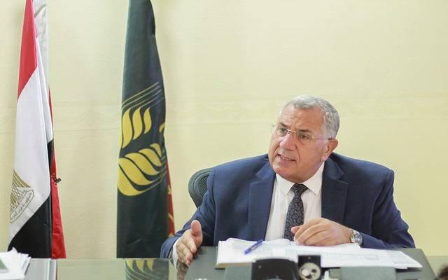 وزير الزارعة المصري - أرشيفية