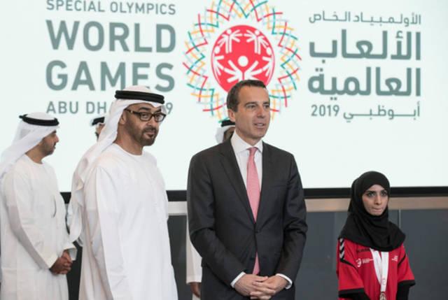 لدورة الالعاب الاقليمية للاولمبياد الخاص التي تقام من 14 إلى 22 مارس المقبل - والدورة العالمية في مارس 2019