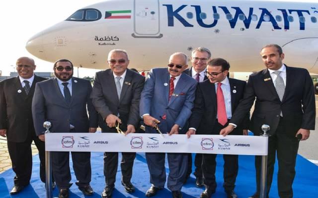 الكويت تتسلم طائرة كاظمة من إيرباص - أرشيفية