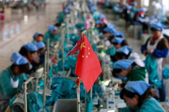 China industrial output climbs in August; retail sales rise