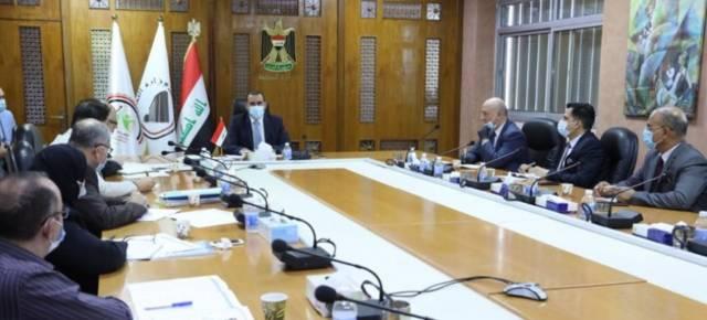 """وزير التخطيط العراقي يترأس الاجتماع المخصص لمناقشة آليات رسم استراتيجية الموازنة العامة للسنوات الثلاث المقبلة2021_2023""""."""