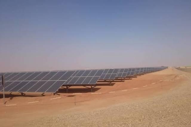 Benban's solar power plants have a1,465-mega-watt total capacity