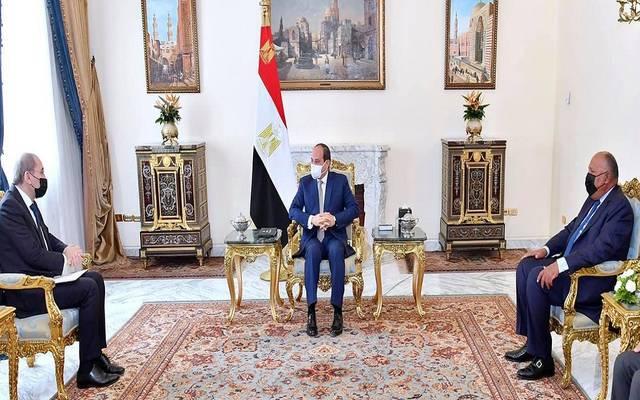 السيسي يبحث مع نائب رئيس وزراء الأردن تعزيز العلاقات الاقتصادية والتجارية
