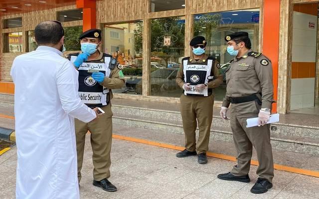 قوات الأمن العام بالسعودية في جولات بالعاصمة المقدسة خلال أزمة كورونا - أرشيفية