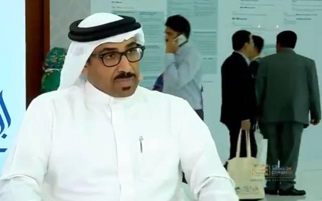 الرئيس التنفيذي لهيئة الربط الكهربائي بالخليج أحمد الإبراهيم خلال مؤتمر الطاقة العالمي أبوظبي2019