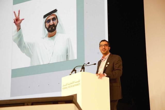 ناصر بن ثاني الهاملي وزير الموارد البشرية والتوطين الإماراتي