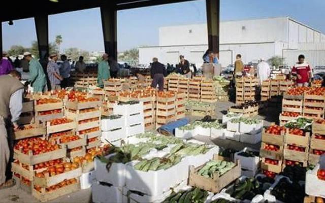 السوق المركزية للخضار والفاكهة