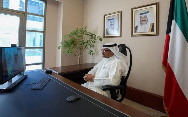 وزير المالية وزير الدولة للشؤون الاقتصادية والاستثمار خليفة مساعد حمادة