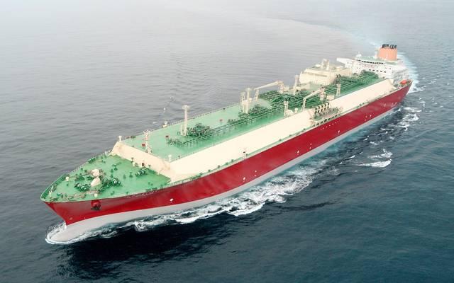 """سفينة الغاز الطبيعي المسال """"الركيات"""""""