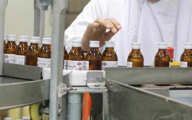 خط إنتاج أدوية