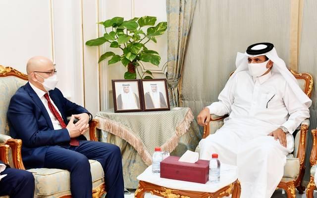 خلال اجتماع غرفة قطر بجمهورية أوزبكستان