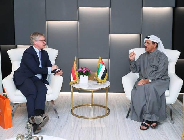 الاقتصاد الإماراتية تبحث فرص الشراكة المستقبلية مع هولندا