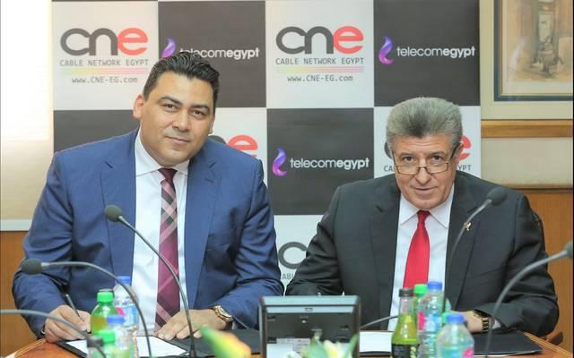 خلال توقيع اتفاقية شراكة استراتيجية مع الشركة المصرية للقنوات الفضائية