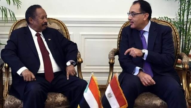 مصر والسودان تصدران بياناً مشتركاً لدفع سبل التعاون الثنائي