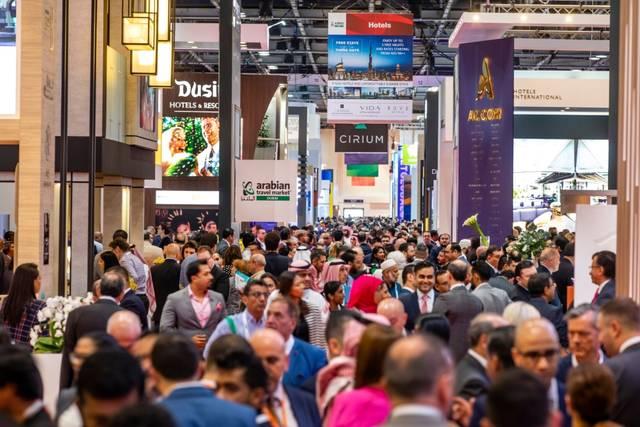 صورة من داخل معرض سوق السفر العربي لعام 2019