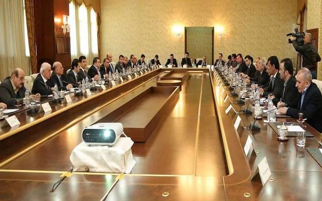 إحدى اجتماعات حكومة اقليم كوردستان العراق