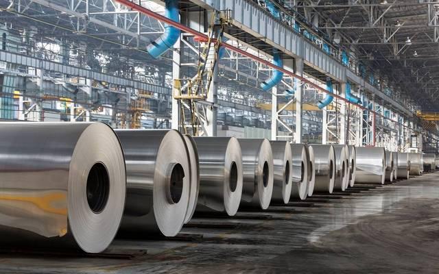 من داخل أحد مصانع إنتاج الألومنيوم